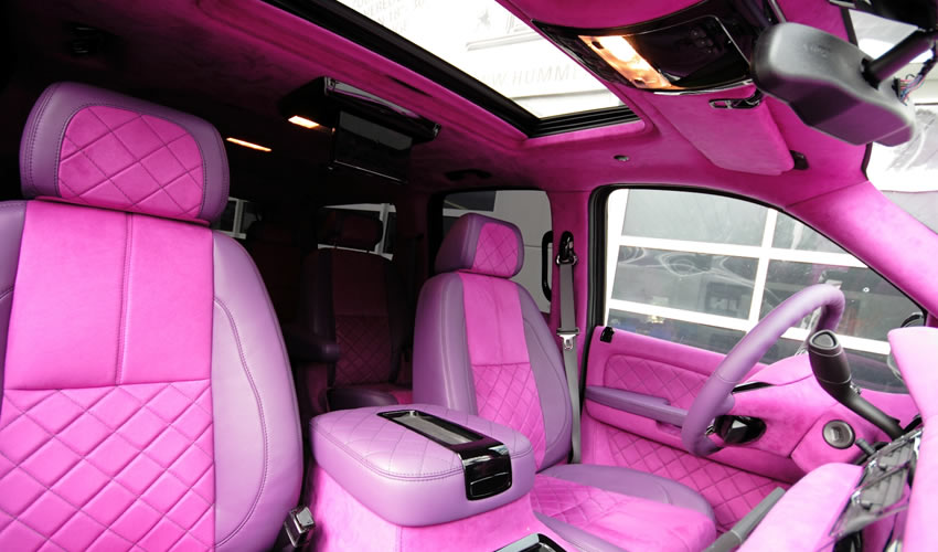 Chevrolet Suburban Anderson Germany Pink Lady Edition
