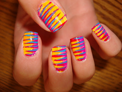 Awesome nail design a colorful soul advertisements prinsesfo Choice Image