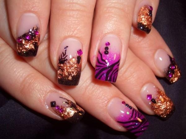 Nail Design A Colorful Soul