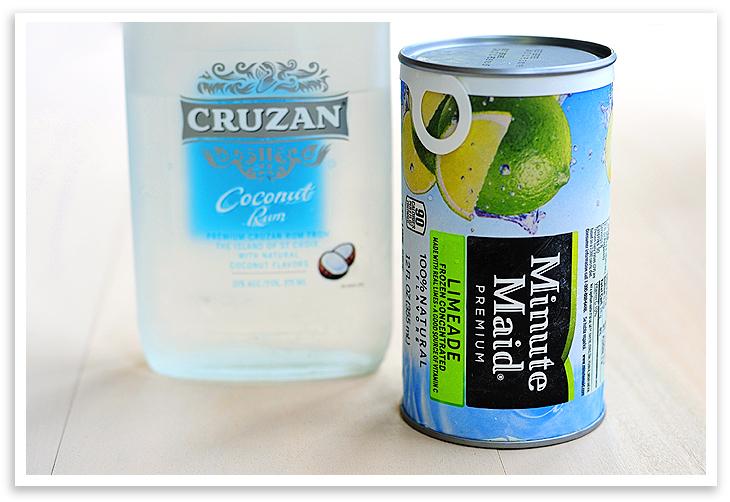 Frozen Coconut Limeade | A Colorful Soul